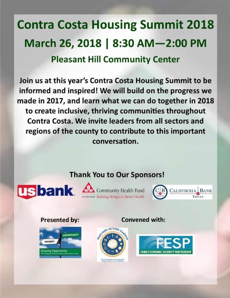 contra costa housing summit
